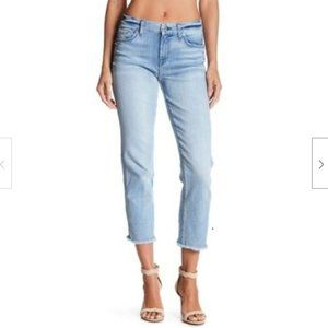 7 Seven For All Mankind Frayed Ankle Straight Jean